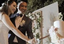 The wedding of Dovano & Erlin by sugarbox patisserie