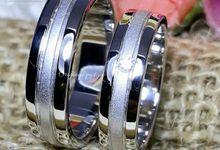 cincin kawin palladium by sanjewellery