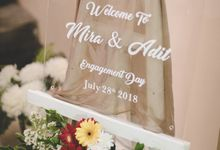Mira and Adit Engagement by Arintha Wedding Organizer