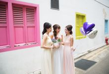 Casual Bridesmaids Shoot by Le voeu (Bridesmaids)