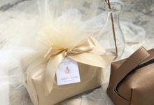 Boxy Pouch for Nabil & Narita by Memoire Souvenir