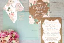 INVITATION +  GIFTS by Peach Theory Decor + Design