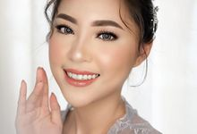 Photoshoot for Miss Riau 2019 by sallmakeupartist