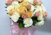 Bridal Bouquet by Orchid Florist and Decoration
