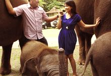 Taufik & Bina Pre Wedding by Bagus Putra Photography
