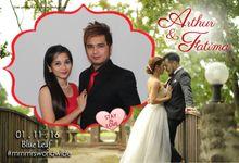 Arthur and Fatima by e-Guestbook