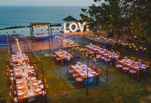 Set Menu Dinner at Pandawa Cliff Estate by DIJON BALI CATERING
