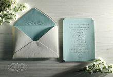 Tony & Chelcia by Papillon Card