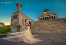 The Journey in Melbourne Vincent & Florence by Valentino Bridal Cafe