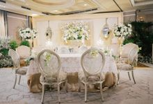 Wedding at Magnolia Ballroom by Hotel Gran Mahakam
