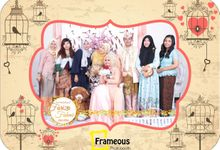 The Wedding of Fariza & Fahmi by Frameous Photobooth