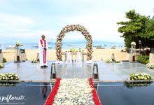 Wedding of Simon & Oleksandra by Bali Yes Florist