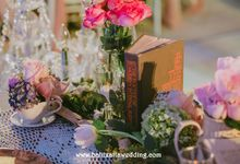 Sweet Rustic Wedding Decoration in Bali by Bali Izatta Wedding Planner & Wedding Florist Decorator