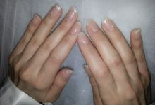 Stella Rissa wedding nails by Luz Bello 3D Nail Art-Extension