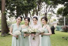HENGKY CALVINA WEDDING by bridestore indonesia