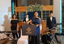 Entertainment Jazz Wedding at Mercure Alam Sutera - Double V Entertainment by Double V Entertainment