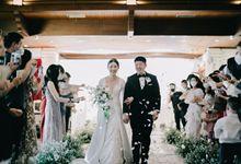 Ronaldo & Grace Holy Matrimony & Wedding Reception by Golf Graha Famili