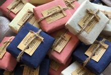 Wedding Favor of Marisa & Rizal by The Soap Project Indonesia