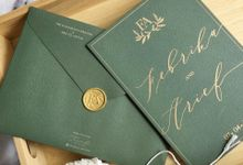 Green Botanical by Trouvaille Invitation