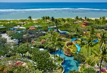 Aerial shots of our hotel by Grand Hyatt Bali