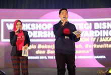 Workshop Strategi Bisnis Leadership and Awarding Night Bank Mandiri Region IV / Jakarta 2 by Wildan Fahmi MC
