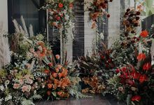 May the 4th Star Wars themed lush floral installation by Lily & Co.