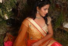 Bridal Shoot by Makeup Artist Sakshi