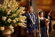 Wedding Highlight Anna & Aji by Menara Mandiri (Ex. Plaza Bapindo) by IKK Wedding