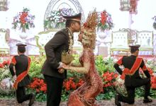 The Wedding of Novi & Ais by Rajawali Grand Ballroom