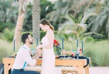 Beach Shoot Wedding by Save The Date Weddings | Events Production