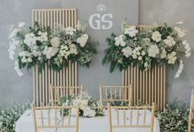 The Wedding of Ghea & Saleh by Elior Design