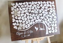 Guest Book by The White Dove
