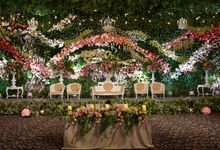 Wedding of Adit & Mendy by Azalia Decoration