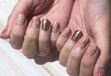 Gel nail art polish by Spotted Nails