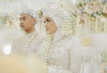 Beautifull white Traditional Wedding by  Menara Mandiri by IKK Wedding (ex. Plaza Bapindo)