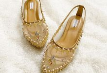 GOLD WEDDING SHOES by UNIFICATIO