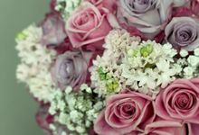 Wedding Bouquet by Blooming Elise Flowers