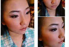 Before After Make up by Monika Sujono Make Up Artist
