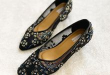 BLACK WEDDING SHOES by UNIFICATIO