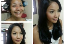 Before - After Makeup by Philipe Karunia