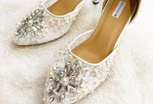 White Wedding Shoes by UNIFICATIO