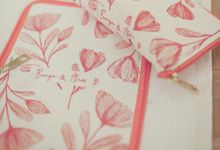 The Wedding of Bunga & Alam by Ellinorline Gift
