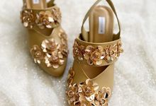 CREME WEDDING SHOES by UNIFICATIO