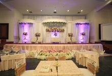 Nessya & Ashri wedding reception by Maheswara