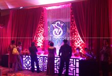 Oriental Wedding by Fuchsia Decoration