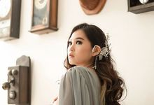 Personal photoshoot ms anita by Sandra Bridal and Makeup Academy