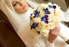 Bridal Hijab Styles by Hijab Styles By Nada