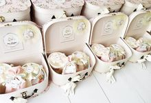 Shira Almadine - Vintage Shabby Chic - First Month Baby Hampers by LE POMMIER { Bespoke Hampers & Paper Goods }