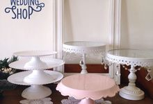 Cake Stands & Sweet Corner Items by The Wedding Shop