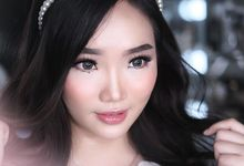 Wedding look by Sandra Bridal and Makeup Academy